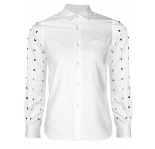 Studded Sleeve Shirt by Junya Watanabe Comme Des Garçons in Empire - Season 2 Episode 11