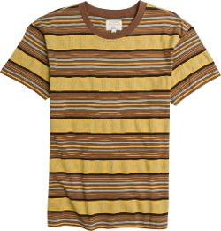 Prospect Street Stripe Ss Tee by Knost X Rvca in Dumb and Dumber To