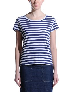 Round Collar Short Sleeve T-Shirt by 8 in The DUFF