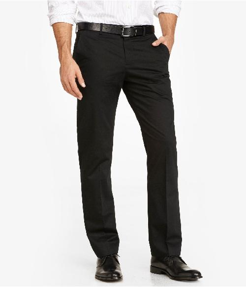 COTTON SATEEN PHOTOGRAPHER SUIT PANT by Express in Godzilla