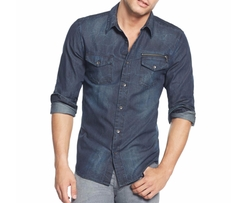 Slim-Fit Moto Shirt by Guess in Shadowhunters