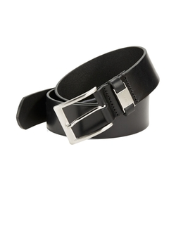 Connio Leather Belt by Hugo Boss in Captive