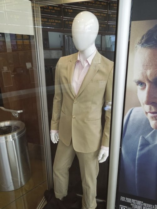 Notched Lapel Suit by Emporio Armani in The Counselor