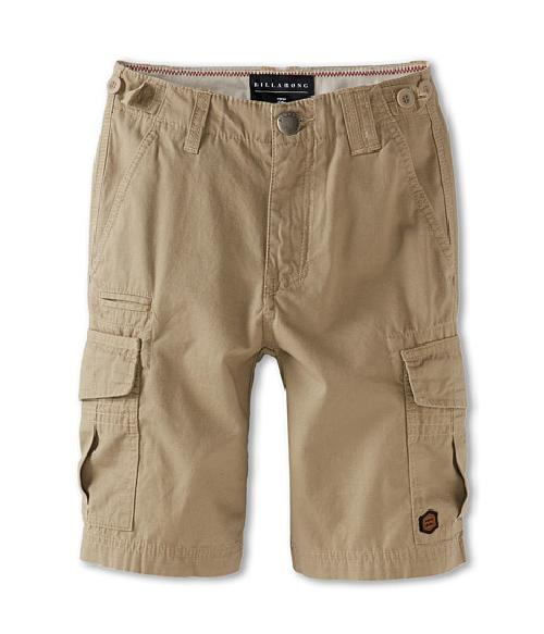 Slargo Cargo Short by Volcom Kids in Blended