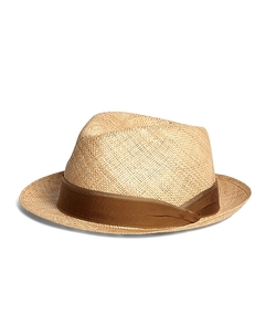 Natural Duet Trilby Hat by Lock & Co. in Inherent Vice