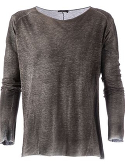 Distressed Effect Long Sleeved T-Shirt by Avant Toi in Mad Max: Fury Road
