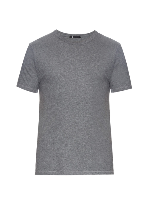 Classic Short-Sleeved T-Shirt by Alexander Wang in Ashby