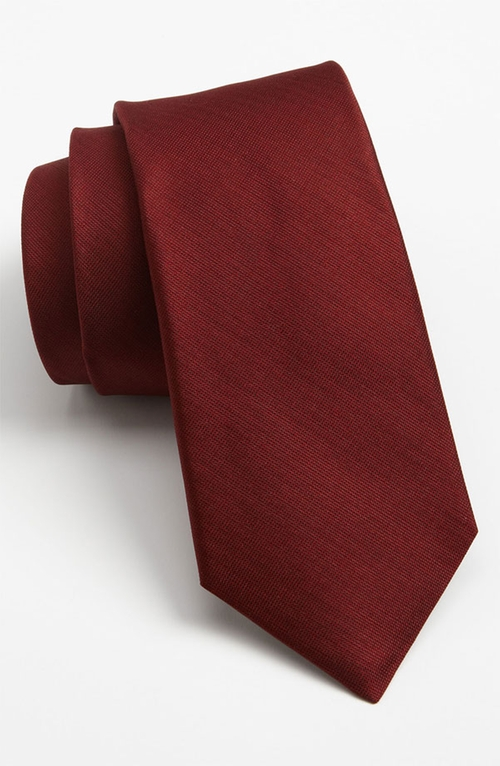Woven Silk Tie by Michael Kors in Quantico - Season 1 Episode 8