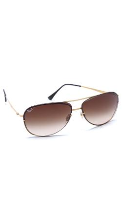 Lightweight Aviator Sunglasses by Ray-Ban in Let's Be Cops