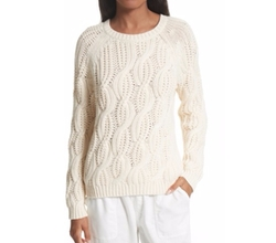 Candessa Cable Knit Sweater by Soft Joie in Molly's Game