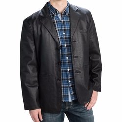 Lambskin Jacket by Leather World by Lucky Leather in Fuller House