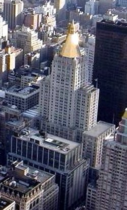 New York City, New York by New York Life Building in Top Five