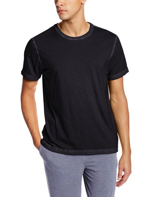Men's Crew Neck Tee by Daniel Buchler in Blackhat