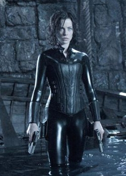"Custom Made ""Selene"" Catsuit by Wendy Partridge (Costume Designer) in Underworld"