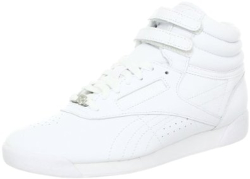 Women's Freestyle Hi Lace-Up Sneaker by Reebok in Masterminds