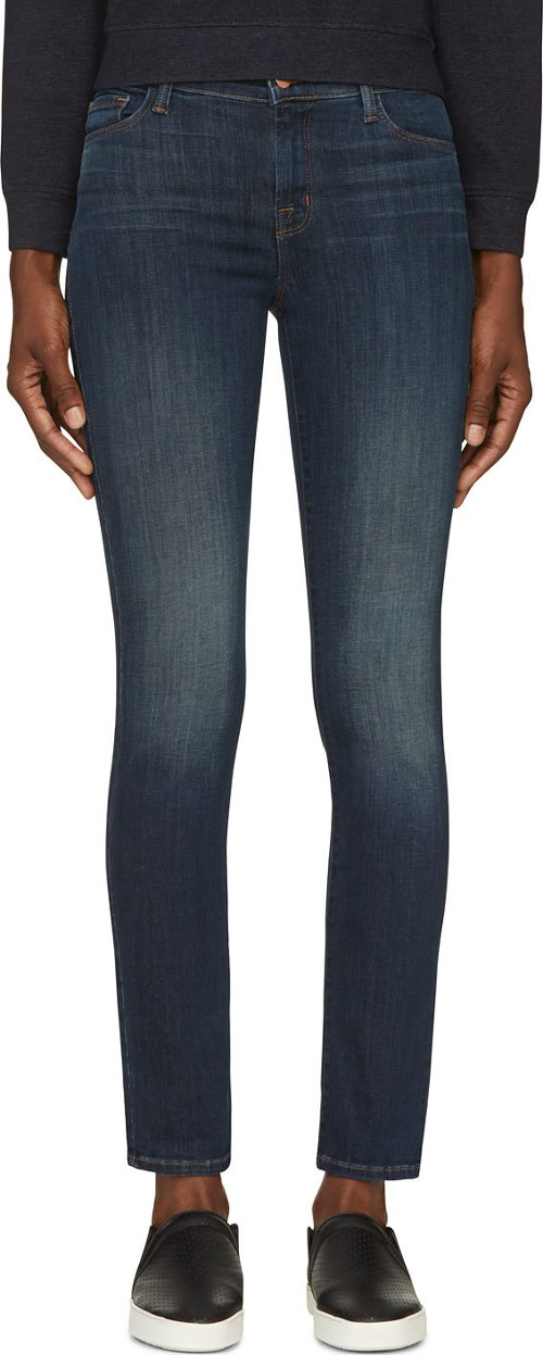 Storm Wash Skinny Jeans by J Brand in Pitch Perfect 2