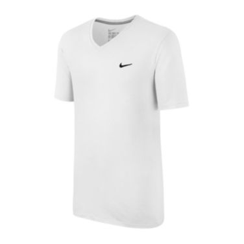 V-Neck Swoosh Tee by Nike in She's The Man