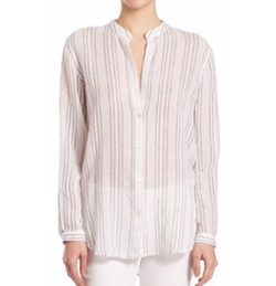 Split Striped Button Shirt by Vince in Lethal Weapon