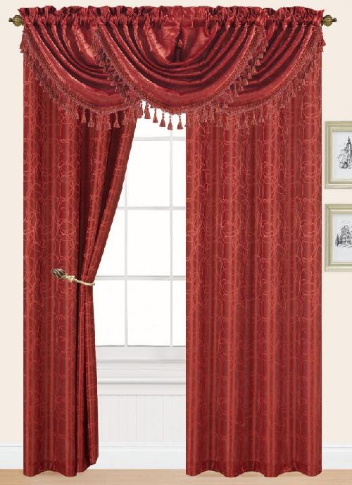 Splendid Rod Pocket Curtains by Edtex in The Great Gatsby