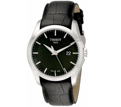 Men's Couturier Black Dial Strap Watch by Tissot in The Night Manager