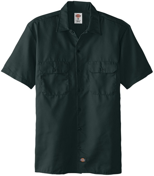 Short-Sleeve Work Shirt by Dickies in The Big Lebowski