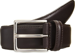 Stitched Edge Belt by Barneys New York in Ballers