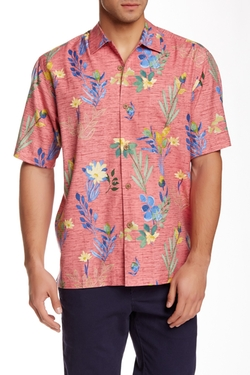 Medici Meadows Original Fit Short Sleeve Shirt by Tommy Bahama in Blow