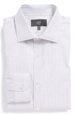 Trim Fit Check Dress Shirt by Jack Spade in Crazy, Stupid, Love.