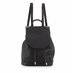 Pilot Leather Flap-Top Backpack by Rag & Bone in Quantico