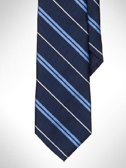 Sudbury Striped Tie by Polo Ralph Lauren in Captain America: The Winter Soldier