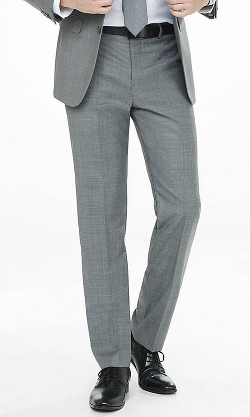 Micro Twill Producer Suit Pant by Express in Youth