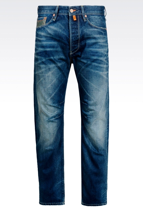 Medium Wash Anti-Fit Jeans by Armani Jeans in Magic Mike XXL