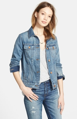 Denim Jacket by Madewell in Scream Queens