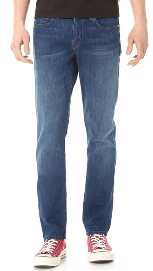 Kane 10.25oz Slim Straight Jeans by J Brand in Interstellar