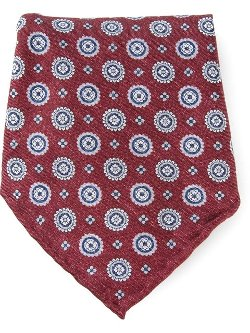 Printed Pocket Square by Brunello Cucinelli in John Wick