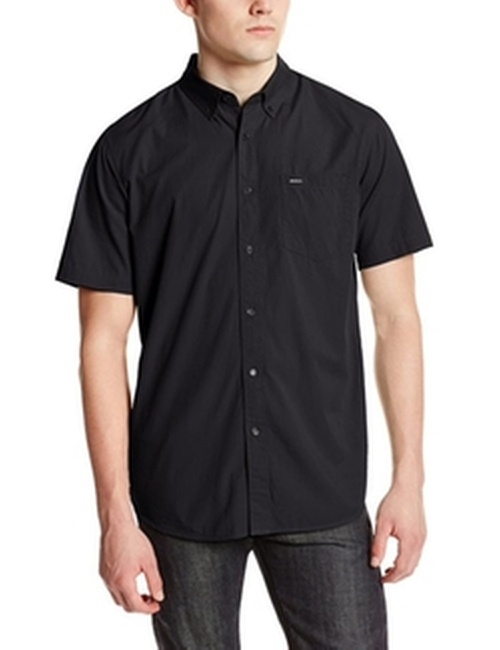 Men's Revival Short Sleeve Shirt by RVCA in Straight Outta Compton