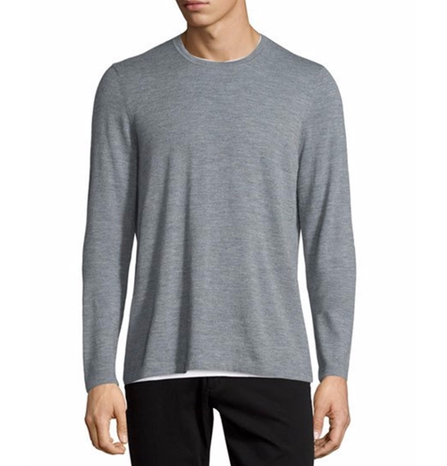 Featherweight Crewneck Sweater by Vince in Ballers - Season 1 Episode 8