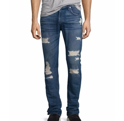 Paxtyn Distressed Denim Jeans by 7 For All Mankind in Guardians of the Galaxy Vol. 2