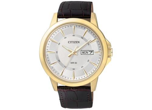 Leather Strap Watch by Citizen in Pretty Little Liars