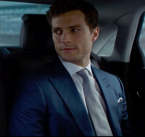 Custom Made Point Collar Dress Shirt by Anto Beverly Hills in Fifty Shades of Grey