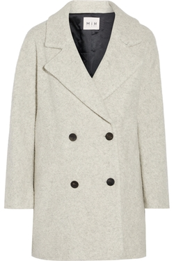 Larking Wool Blend Coat by Mih Jeans in Once Upon a Time