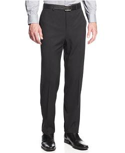 Textured Slim-Fit Dress Pants by Calvin Klein in St. Vincent