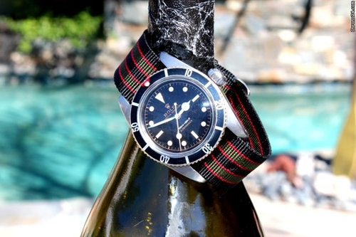 6538 Submariner Watch by Rolex in Dr. No