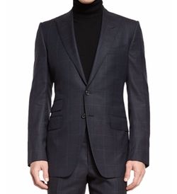 O'Connor Base Prince of Wales Two-Piece Suit by Tom Ford in Suits