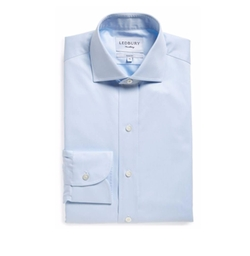 Slim Fit Dress Shirt by Ledbury in The Commuter