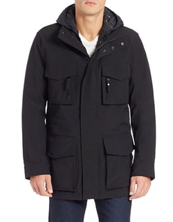 Hooded Parka Jacket by Andrew Marc in Spotlight