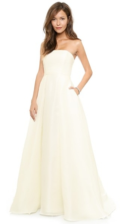 Gazar Ball Gown by Badgley Mischka Collection in New Girl