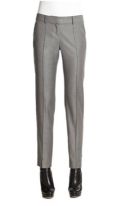 Carine Shimmer Twill Pants by St. John in Before I Wake