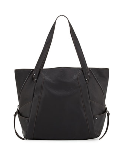 Connor Pebbled Leather Tote Bag by Kooba in Regression