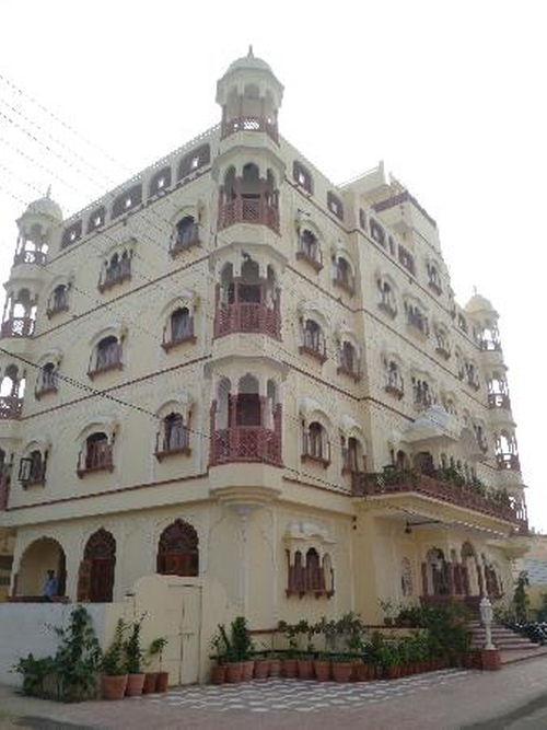 Pearl Palace Heritage Guesthouse (Depicted as Second Best Exotic Marigold Hotel) Jaipur, India in The Second Best Exotic Marigold Hotel